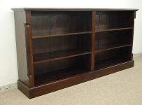 Wunderschönes Buchregal Bücherschrank Bücherregal Regal aus massiv Mahagoni