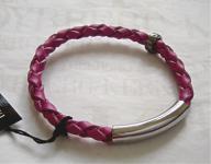 Dyrberg Kern Leder Armband Sona SS / Pink