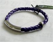 Dyrberg Kern Leder Armband Sona SS / Purple