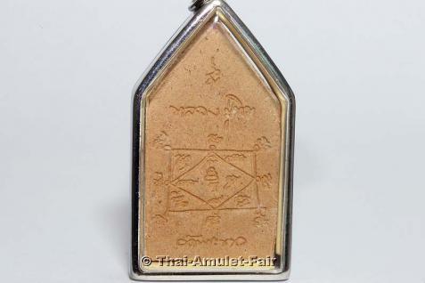 Geweihtes Thai Amulett Phra Khun Paen Klüab Sri Mongkol Ruun Pii Sed des ehrwürdigen Luang Phu Tim, Abt des Wat Phra Khaw, Tambon, Phra Khaw, Amphoe Bang Bal, Changwat Ayutthaya, Thailand, aus dem Jahr 2551 (2008). - Vorschau 2