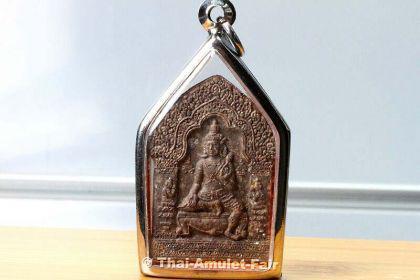 Luang Pho Watchara Khun Paen LEKLAI Thai Amulett