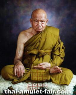 Geweihtes Thai Amulett Phra Khun Paen Klüab Sri Mongkol Ruun Pii Sed des ehrwürdigen Luang Phu Tim, Abt des Wat Phra Khaw, Tambon, Phra Khaw, Amphoe Bang Bal, Changwat Ayutthaya, Thailand, aus dem Jahr 2551 (2008). - Vorschau 3