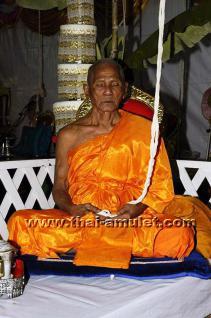 Geweihtes Thai Amulett Glückssalamander (Dsching Dschoog 9 Hang) des ehrwürdigen Luang Phu Kee Kitiyano aus Surin, Isaan, Nordostthailand vom 03.05.2013 - Vorschau 5