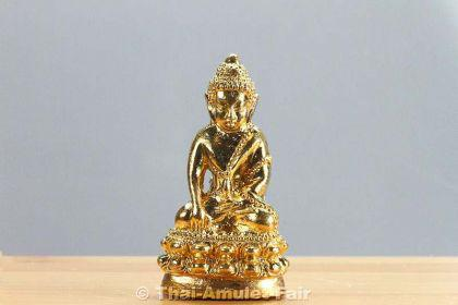 Geweihtes Buddha Thai Amulett Phra Gring Wisutthi Metta aus dem Wat Suthat Bangkok - Vorschau 3