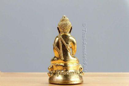 Geweihtes Buddha Thai Amulett Phra Gring Wisutthi Metta aus dem Wat Suthat Bangkok - Vorschau 4