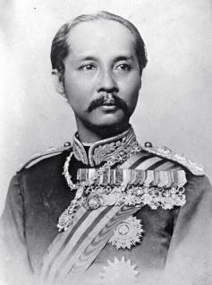Vergoldetes König Chulalongkorn Thai Amulett - Vorschau 4