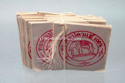 Geweihtes Blattgold 100 Blatt aus Thaitempel - Tamb - Vorschau 2