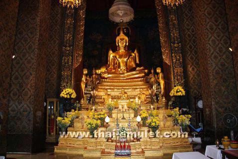 Thai Amulett seiner Heiligkeit Somdej Phra Sangkara - Vorschau 5