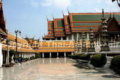 Geweihtes Buddha Thai Amulett Phra Gring Wisutthi Metta aus dem Wat Suthat Bangkok - Vorschau 5