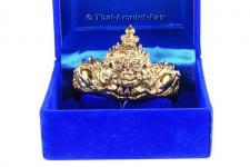 Thai Amulett Armreif Gamlai Phra Rahoo (Maha Thep Throng Rit Palang Amnat) Nuea Thong Khaow Ruun Mongkoln Nakkarath des ehrwürdigen Luang Phu Kambu, zu Lebzeiten Abt des Wat Kut Chom Phu, Tambon Kut Chom Phu, Amphoe Phibun Mangsahan, Ubon Ratchathani