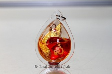Thai Amulett Luug Kaew Manee Nakkarath Sii Daeng Abt des Wat Ban Chok