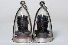 Thai Schutz Amulett Phra Pidta Ganpai Buddha Miniserie