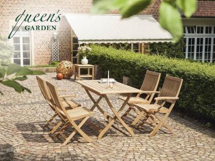 """Teakholz Queen´ s Garden Sitzgruppe """" York"""" 4-Personen"""