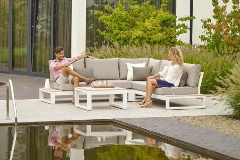 Aluminium Lounge Mallorca White