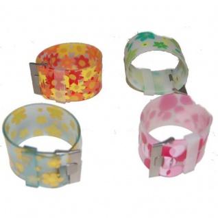 TRENDY 20 Armbänder Armband Kunststoff 4 Designs - Vorschau 1