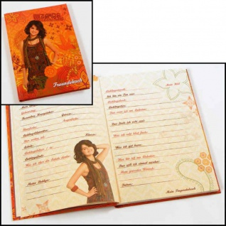 Freundebuch Freundschaftsbuch Wizards of waverly place (C)Disney - Vorschau 1