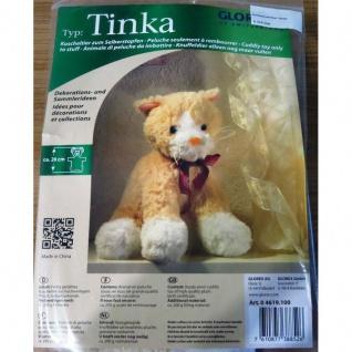 Kuscheltier Katze Tinka zum Selberstopfen selber füllen
