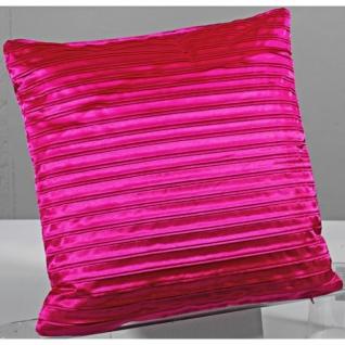 2 x Kissenbezug Kissenhülle 40 x 40 pink - Vorschau 3