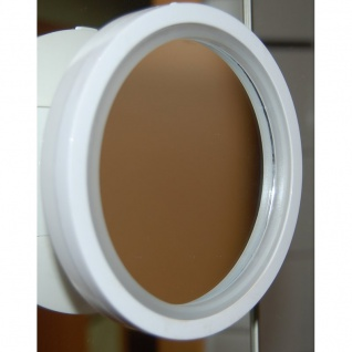 Kosmetikspiegel 8fach Vergrößerung LED-Beleuchtung Saugnapf 360 ° drehbar