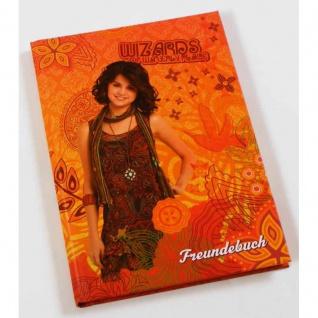 Freundebuch Freundschaftsbuch Wizards of waverly place (C)Disney - Vorschau 2