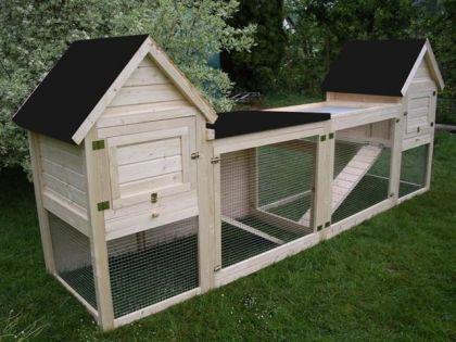 hasenstall kaninchenstall doppel tweety kaufen bei. Black Bedroom Furniture Sets. Home Design Ideas