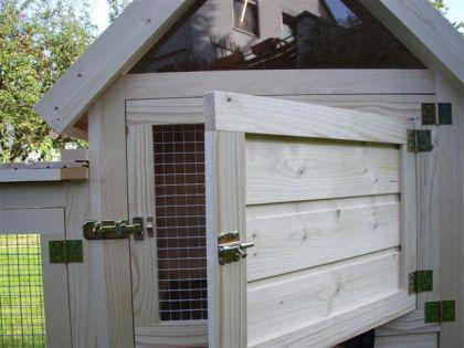 h hnerstall kaninchenstall tweety kaufen bei ronalds holzladen. Black Bedroom Furniture Sets. Home Design Ideas