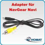 Anschlussadapter Kameraanschluss NavGear