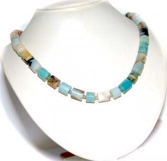 Kette Halskette Anden Opal Blau 925er Sterlingsilber