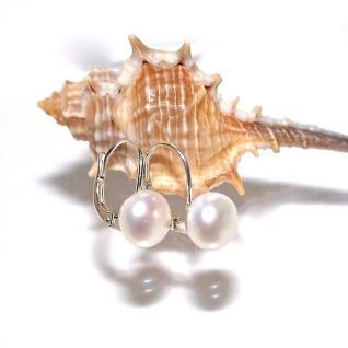Ohrringe 925er Sterling Silber Zuchtperle