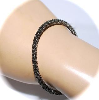 Armband 925er Sterlingsilber Ruthenium veredelt