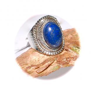 Ring 925er Sterlingsilber Lapislazuli