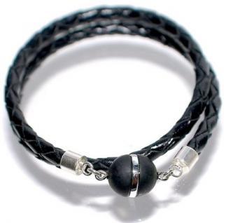 Armband Echtleder Magnet