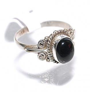 Ring 925er Sterlingsilber Onyx