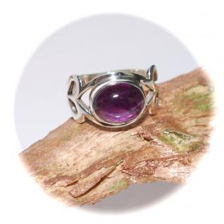 Ring 925er Sterlingsilber Amethyst