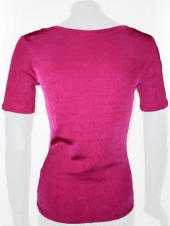 Feel Good Shirt kurzarm in changierendem Pink - Vorschau 2