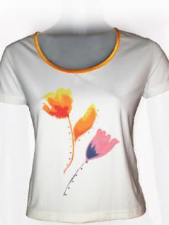 Didier Parakian T-Shirt kurzarm Strass verziert