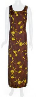Sinequanone Kleid lang geblümt in braun