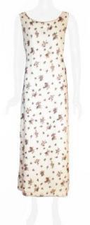 Sinéquanone langes Kleid geblümt