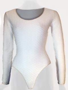 Feel Good Struktur-Body in weiß