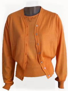 Tara Jarmon Strickjacke in orange