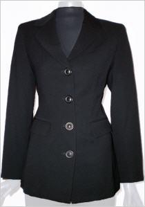 Isabel de Pedro Anzug Jacke in schwarz