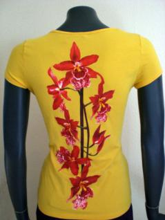 Isabel de Pedro Shirt kurzarm in gelb - Vorschau 3