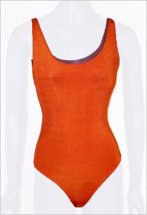 Feel Good Träger-Body in orange - Vorschau 1