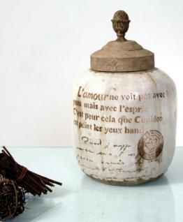 Vase im Landhausstil