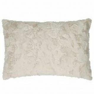 Pad Kissenhülle Bardot natural Felloptik 30 x 50 cm kuschelig weich