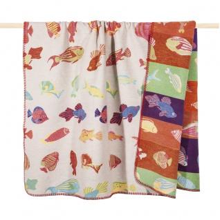 PAD Decke Wohndecke REEF multi 150 x 200 cm Baumwollmischung - Vorschau 1
