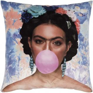 pad Kissenhülle Rosanna Bubble 45 x 45 cm aus 100% Polyester-Velours mit RV