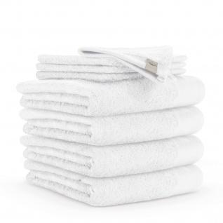 WARLA Frottierserie Soft Cotton weiss 100% Baumwolle uni klassisch