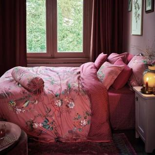 PiP Studio Perkal Bettwäsche Chinese Porcelain Pink fantasievolles Motiv Wendeoptik