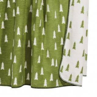Pad Wolldecke Forrest 150 x 200 green | Baumwollmischung - Vorschau 2